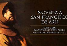 Novena a San Francisco de Asís: Cuarto Día