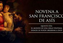 Novena a San Francisco de Asís: Quinto Día