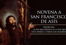 Tercer Día de la Novena a San Francisco de Asís