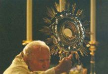 Adoración Eucarística de Juan Pablo II. Oraciones al Santísimo Sacramento