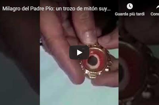 Milagro del Padre Pío