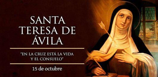 El Santo del día y su historia. Teresa de Jesús (de Ávila), Santa. Martes 15 de octubre de 2019