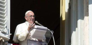 El Papa Francisco angelus