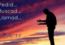 Lectura del santo evangelio según san Mateo (7,7-11)