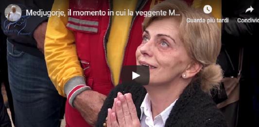 Medjugorje. El momento en que la vidente Mirjana habla con la Virgen, sábado, 2 de noviembre de 2019 (VIDEO)