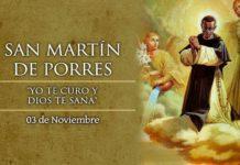 Martín de Porres, Santo. El Santo del día y su historia. Domingo, 3 de noviembre de 2019