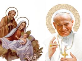 oración de Juan Pablo II al Niño Jesús por Navidad