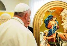 Papa Francisc oracion mariana