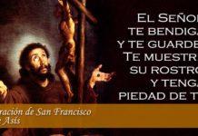 Oración de la mañana DE SAN FRANCISCO DE ASÍS.