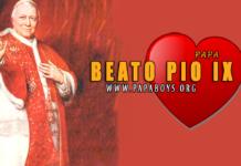 Beato Pío IX, Papa