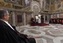 Papa Francisco al Tribunal vaticano La justicia debe ir de la mano de las virtudes cardinales3