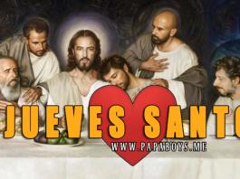 Jueves Santo - Fiesta litúrgica de hoy (9 de Abril)