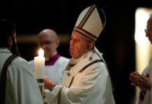 El Papa Francisco en Vigilia Pascual