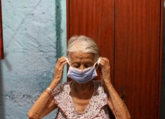 Ancianos bajo cuarentena por coronavirus