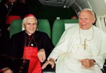 Benedetto XVI e Giovanni Paolo II