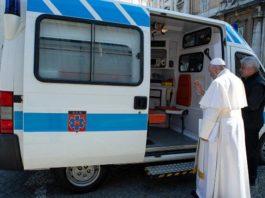 Vaticano. Las personas sin hogar también tienen su propia ambulancia