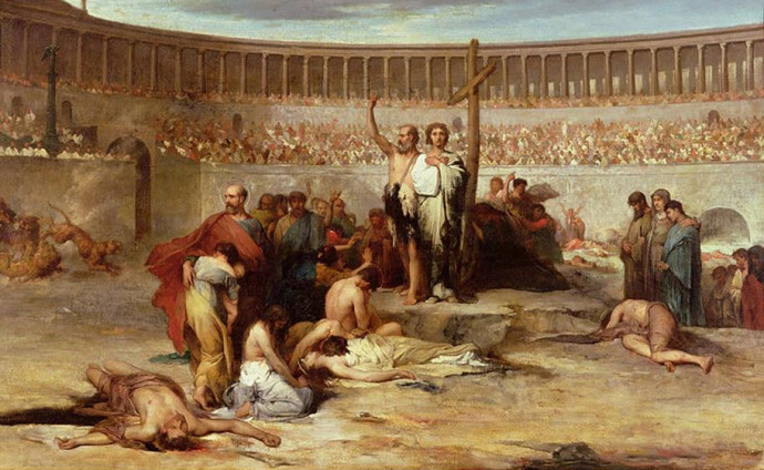 Santos Primeros Mártires de la Santa Iglesia Romana