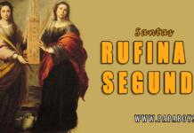Santas Rufina y Segunda, Mártires. El Santo del día y su historia. Viernes, 10 de Julio de 2020.