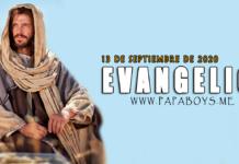 Evangelio del día, 13 de Septiembre de 2020