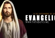 Evangelio del día,15 de Septiembre de 2020