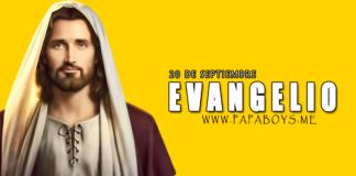 Evangelio del día, 20 de Septiembre de 2020