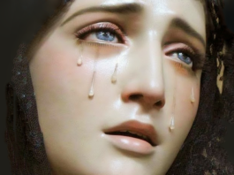 Oración a la Virgen de las lágrimas