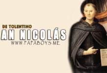 San Nicolás de Tolentino, religioso