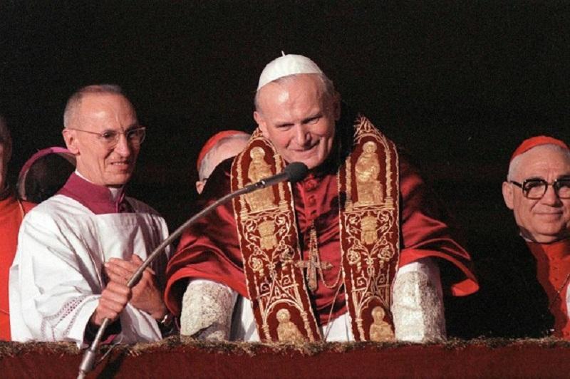 El 16 de octubre de 1978, Juan Pablo II fue elegido papa