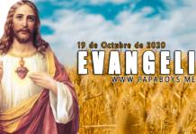 Evangelio del día, 19 de Octubre de 2020