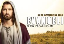 Evangelio del día, 21 de Octubre de 2020