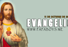 Evangelio del día, 11 de Octubre de 2020