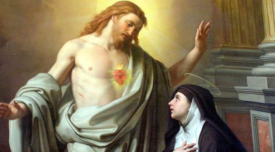 Santa Margarita María Alacoque, 16 de Octubre