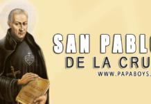 San Pablo de la Cruz, 19 de Octubre