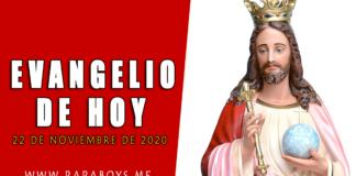 Evangelio del día, 22 de Noviembre de 2020