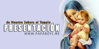 Presentación de santa María Virgen