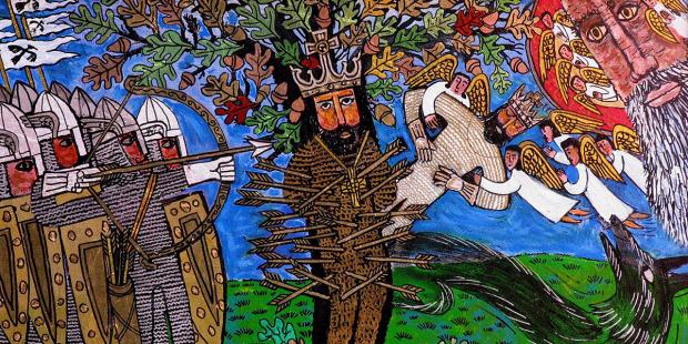 San Edmundo, rey y mártir