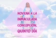 Novena a la Inmaculada Concepción. Reza hoy, 3 de Diciembre, el Quinto Día