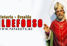 San Ildefonso, Obispo de Toledo