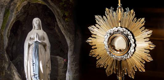 Nuestra Señora de Lourdes ruega por nosotros: oración de Consagración a la Virgen María