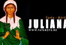 Santa Juliana, patrona de los enfermos
