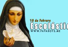El Santo del día, 10 de Febrero: Santa Escolástica, virgen